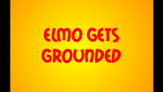 Elmo Gets Grounded Title Screen