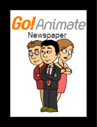 GoAnimate Newspaper Main Story