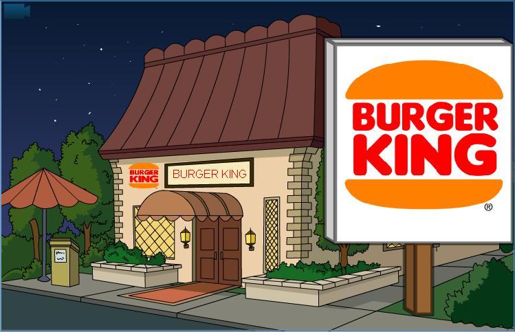 Burger King (Nighttime)