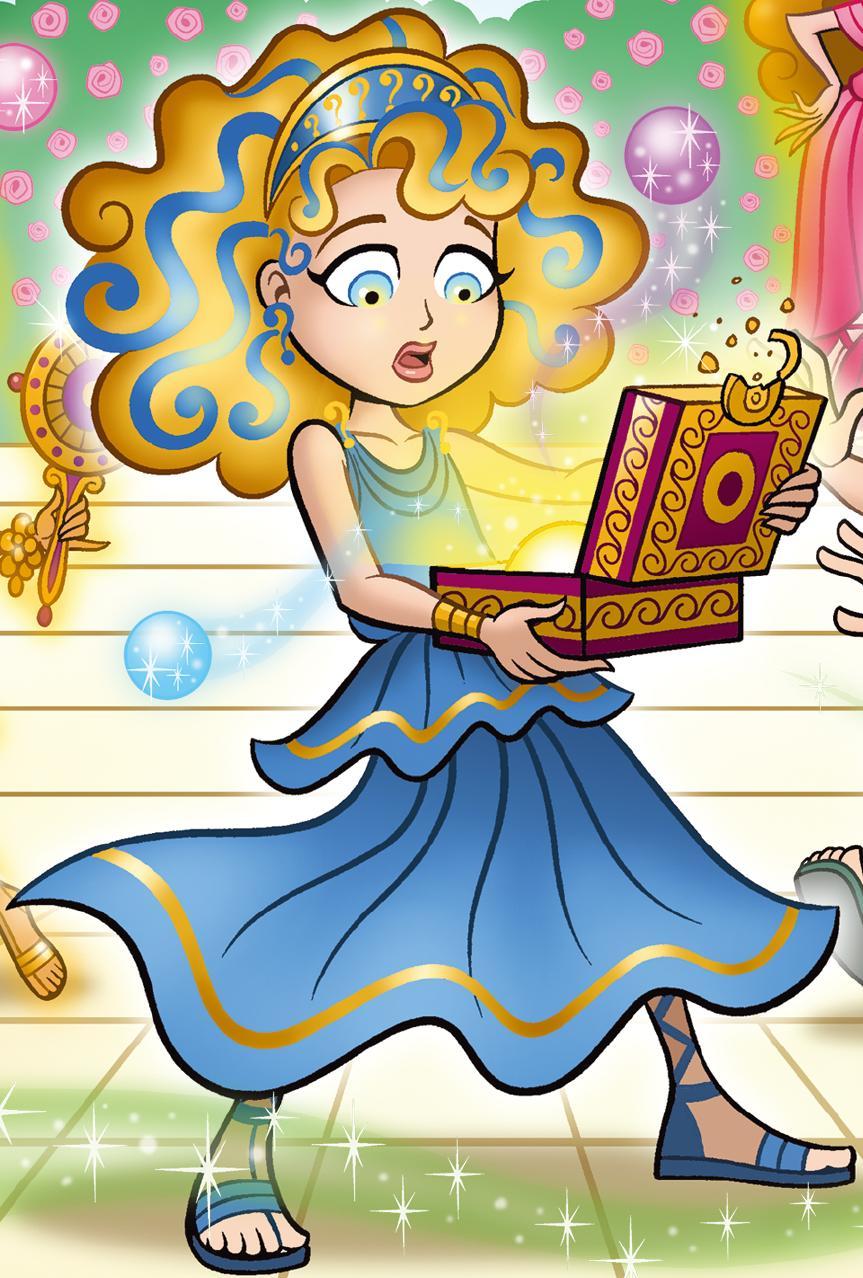 pandora goddess girls wiki fandom powered by wikia