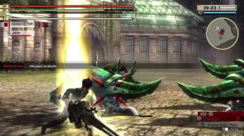GOD EATER 2 RAGE BURST - Aragami clips - Dreadpike