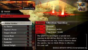R6 Obsidian Sacrifice