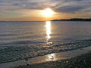 Lake erie shore.97185214