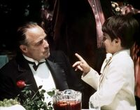 Don Vito and Frank Corleone