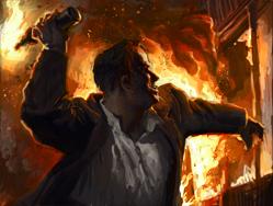 Troop arsonist