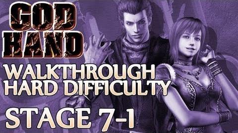 ★ God Hand Walkthrough ▪ Hard Mode - Stage 7-1 ▪ Dr. Ion Boss Fight 2