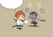 Mi-Ra break up with Minseo