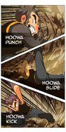 Hua Punch Slide Kick