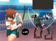 Mi-Ra strike down some opponent
