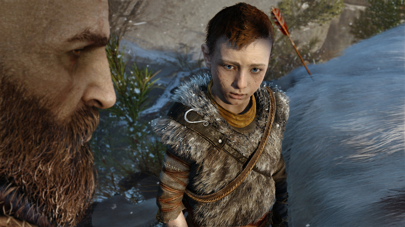 Image result for kratos atreus