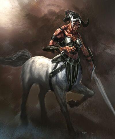 File:God of war iii conceptart female centaur.jpg