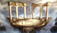 Rotonda and gods