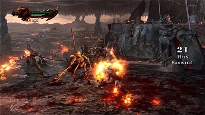 Imagen kratos en el god of war wiki for God of war 3 jardines del olimpo