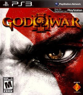 God of War 3 III PS3 Region 1 Canadian