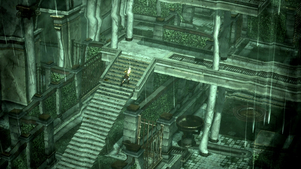 Archivo kratos resolviendo el puzzle de los jardines del for God of war 3 jardines superiores
