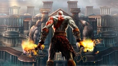 "God of War II ""The Death of Perseus"