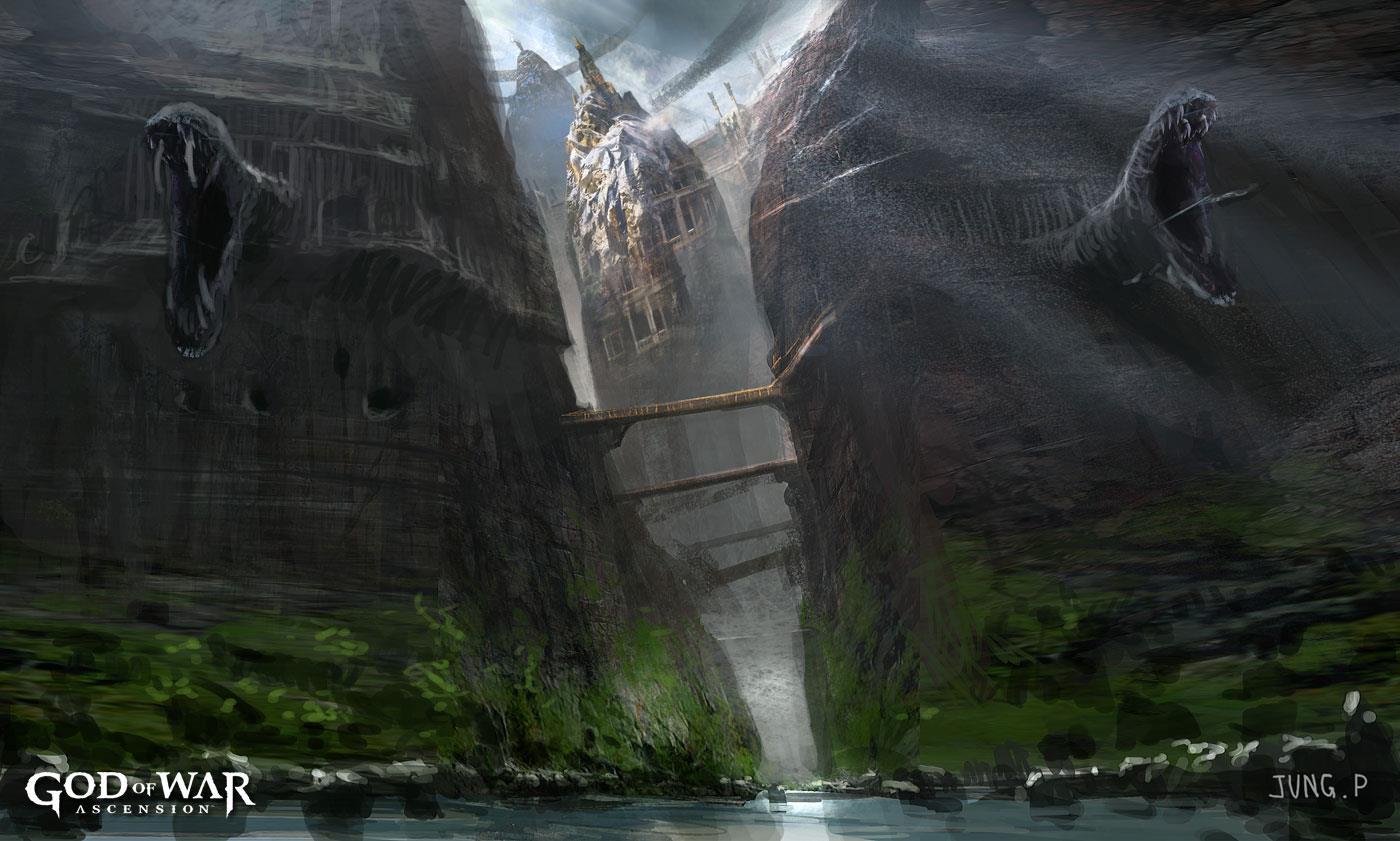 Euryale Greek Mythology Delphi | God of War Wi...