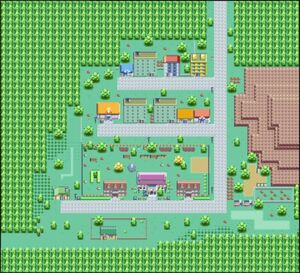 Holly City overview map