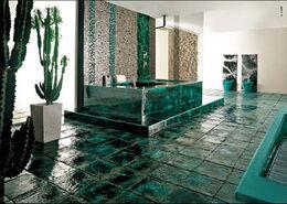 Aquatic Decor Beach Themed Bathroom