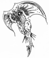 Concept Art - Godzilla vs. Destoroyah - Destoroyah 7