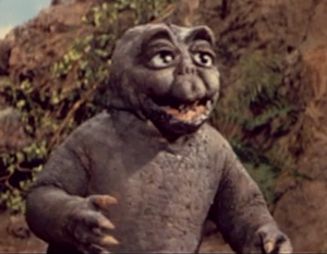 The ShodaiMinira as it is seen in All Monsters Attack