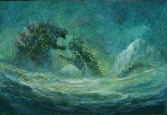 Godzilla vs. Demon Varan (Godzilla in Hell)