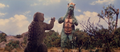 All Monsters Attack - Gabara thinks Minilla is saying to beat him up