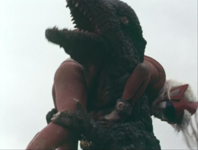 File:Go! Godman - Episode 6 Godman vs. Gorosaurus - 20 - That's enough!.png