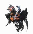 Concept Art - Yamato Takeru - Kumasogami 1