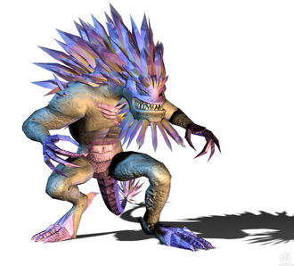 Krystalak as he is seen in Godzilla: Unleashed for the Wii