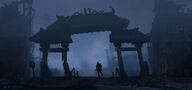 Concept Art - Godzilla 2014 - Dragon Arch