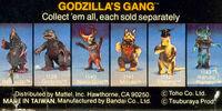 Godzilla's Gang