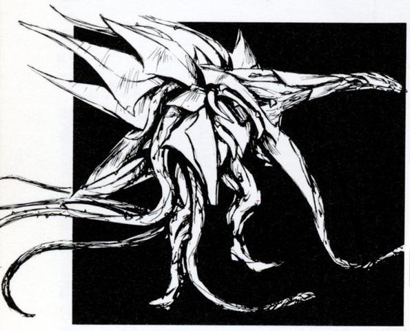 File:Concept Art - Godzilla vs. Biollante - Biollante 1.png