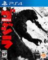 Godzilla 2015 game cover (PS4)