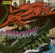 Godzilla vs Bagorah