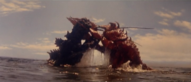 File:All Monsters Attack - Ebirah and DaisensoGoji appear via stock footage 5.png