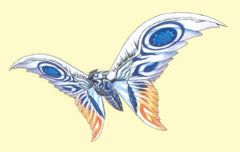 File:Concept Art - Rebirth of Mothra 3 - Armor Mothra 2.png