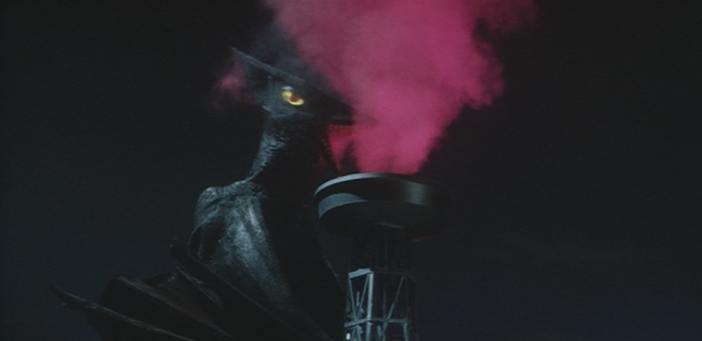 File:Gamera - 3 - vs Gyaos - 29 - Gyaos drinks some human blood-like liquid and gets rotated but it fails.png