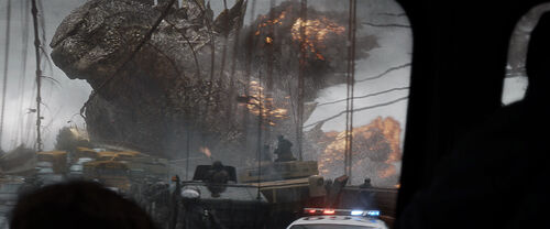 Godzilla 2014 Bridge