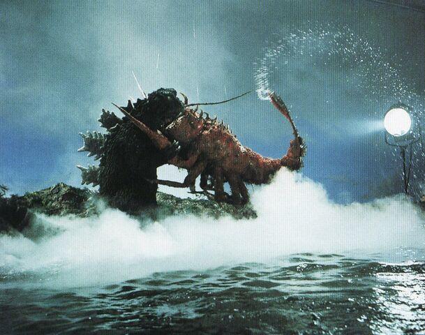 File:EHOTD - Godzilla and Ebirah Hug Battle With a Spotlight.jpg