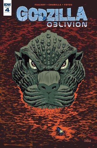 GODZILLA OBLIVION Issue 4 CVR A
