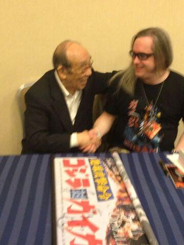 File:Jeff Zornow and Haruo Nakajima Late-October 2014.jpg