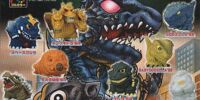 Godzilla Sofubi Collection