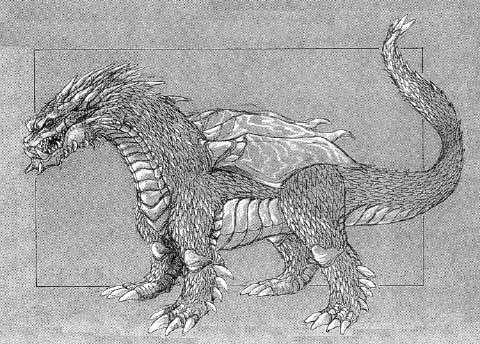 File:Concept Art - Rebirth of Mothra - Desghidorah 1.png
