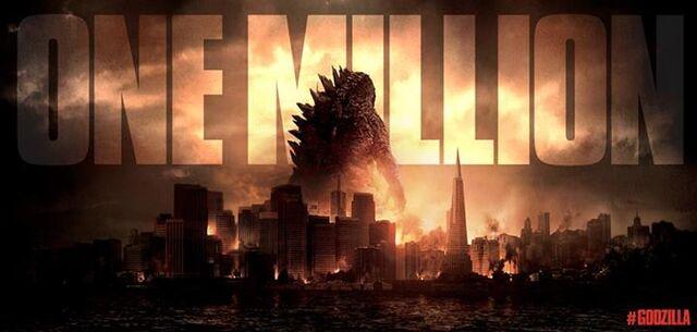 File:Godzilla 2014 One Million Likes.jpg