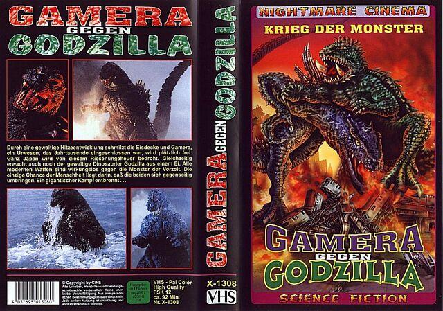 File:German Gamera vs. Barugon Bootleg VHS.jpg