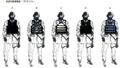 Concept Art - Godzilla Final Wars - Special Ops 2