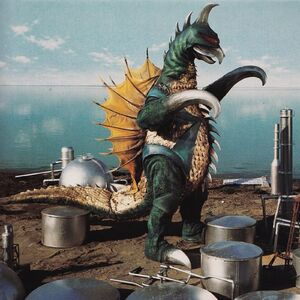 The ShodaiGigan as it is seen in Godzilla vs. Gigan