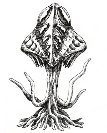 File:Concept Art - Godzilla 2000 Millennium - Millennian 1.png