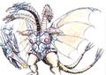 Concept Art - Godzilla vs. King Ghidorah - Mecha-King Ghidorah 5